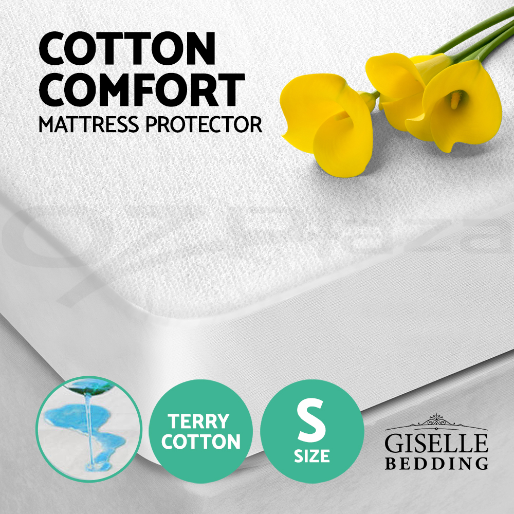 Giselle Bedding Fully Fitted Waterproof Mattress Protector