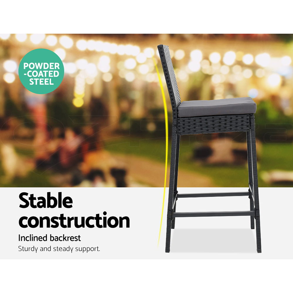 thumbnail 96 - Gardeon Outdoor Furniture Dining Chairs Chair Table Patio Bistro Garden Coffee