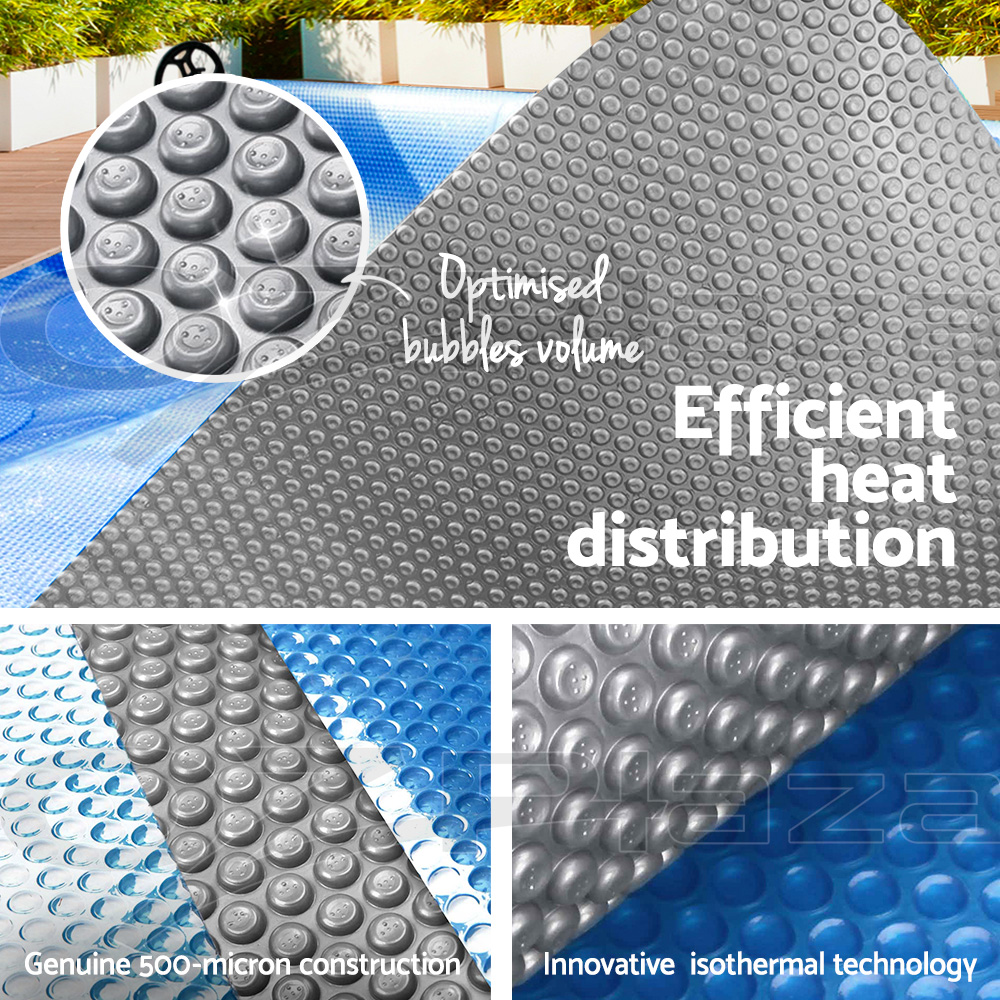 thumbnail 151 - Aquabuddy Pool Cover 400 500 Micron Solar Blanket Swimming Covers Outdoor Bubble