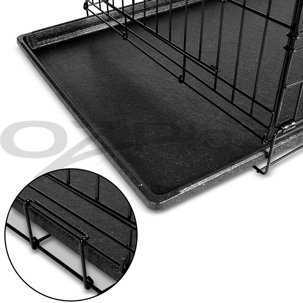 "thumbnail 78 - i.Pet Pet Dog Cage Crate Kennel Cat Collapsible Metal Cages 24""~ 48"" Playpen"