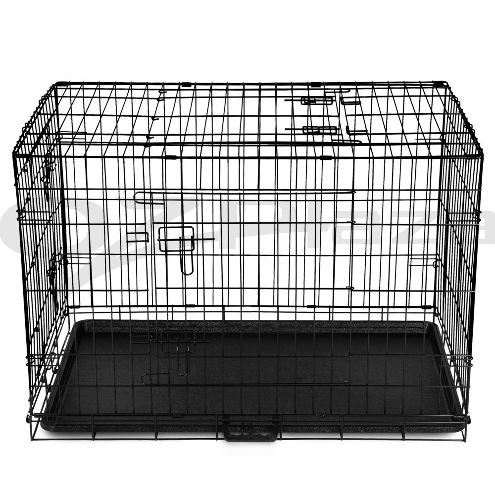 "thumbnail 31 - i.Pet Pet Dog Cage Crate Kennel Cat Collapsible Metal Cages 24""~ 48"" Playpen"