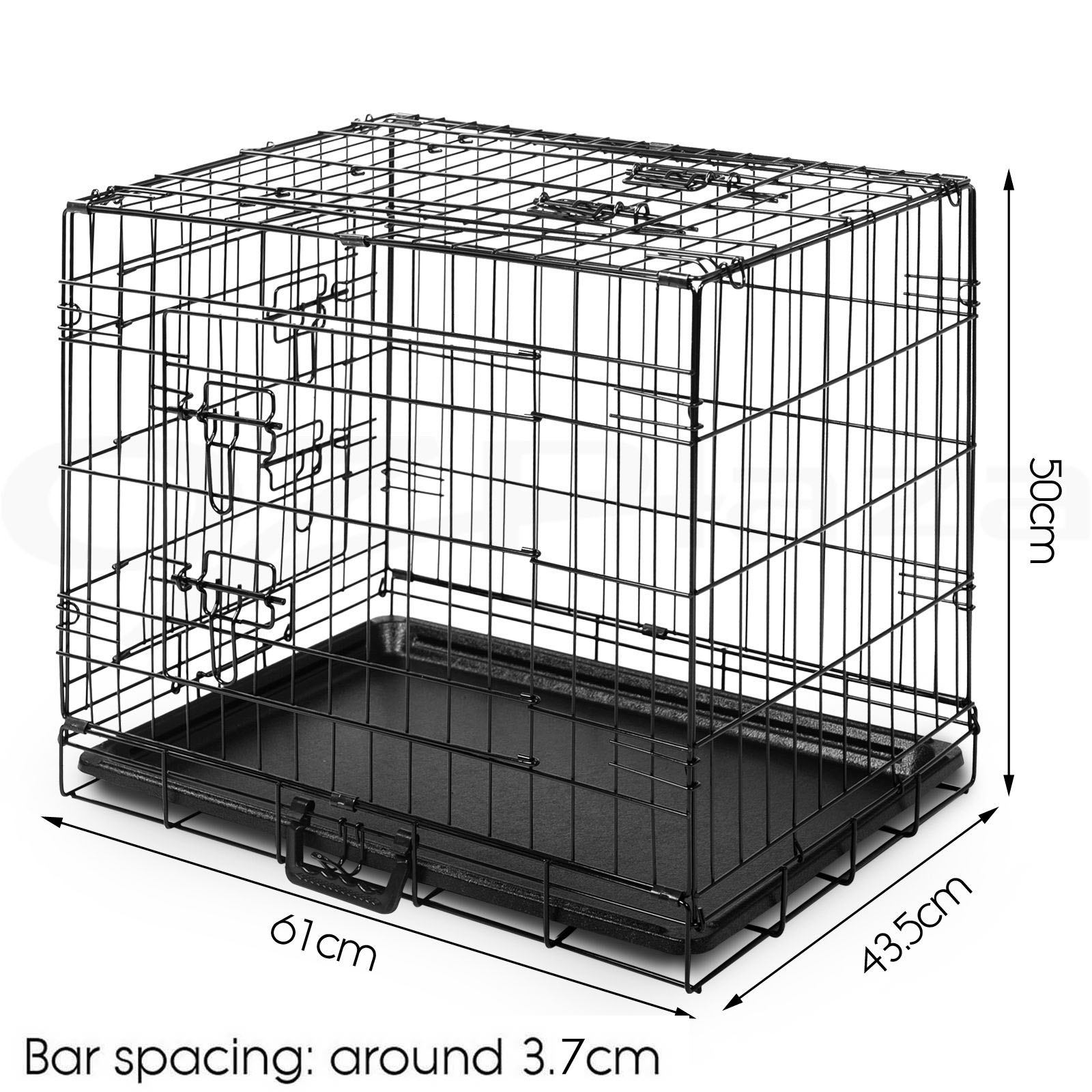 "thumbnail 123 - i.Pet Pet Dog Cage Crate Kennel Cat Collapsible Metal Cages 24""~ 48"" Playpen"