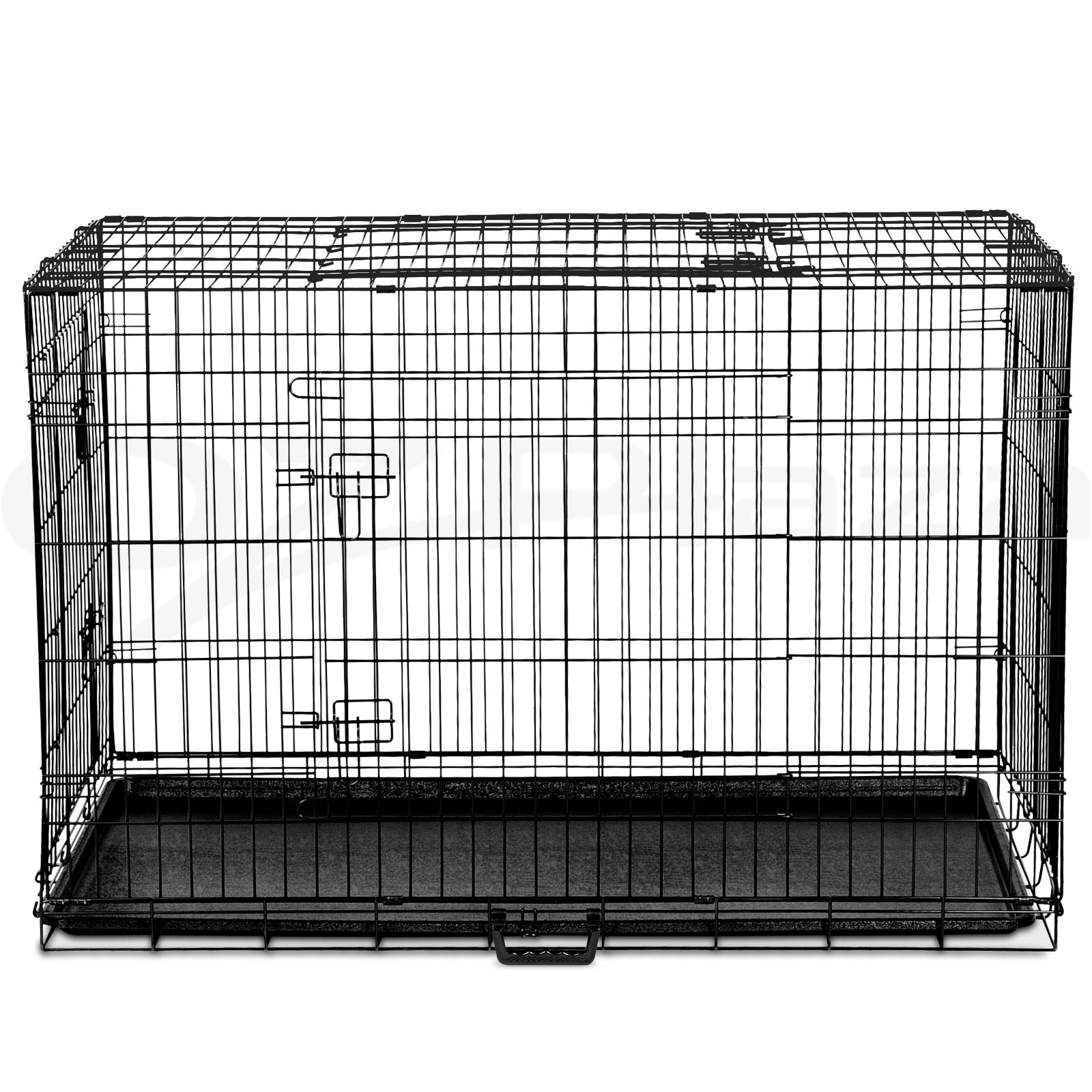 "thumbnail 135 - i.Pet Pet Dog Cage Crate Kennel Cat Collapsible Metal Cages 24""~ 48"" Playpen"