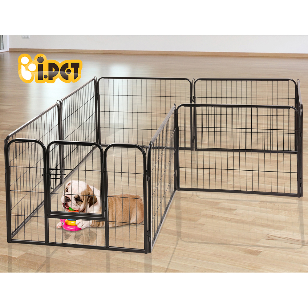 thumbnail 39 - i-Pet-8-Panel-Pet-Dog-Playpen-Puppy-Exercise-Cage-Enclosure-Fence-Cat-Play-Pen