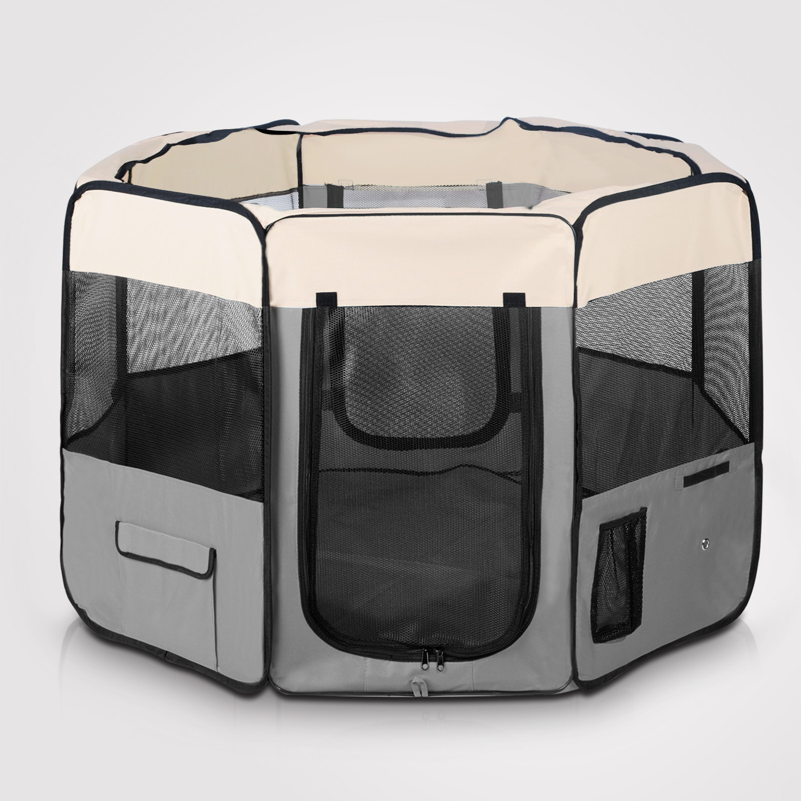 Pet Playpen Dog Soft Crate Cat Exercise Cage