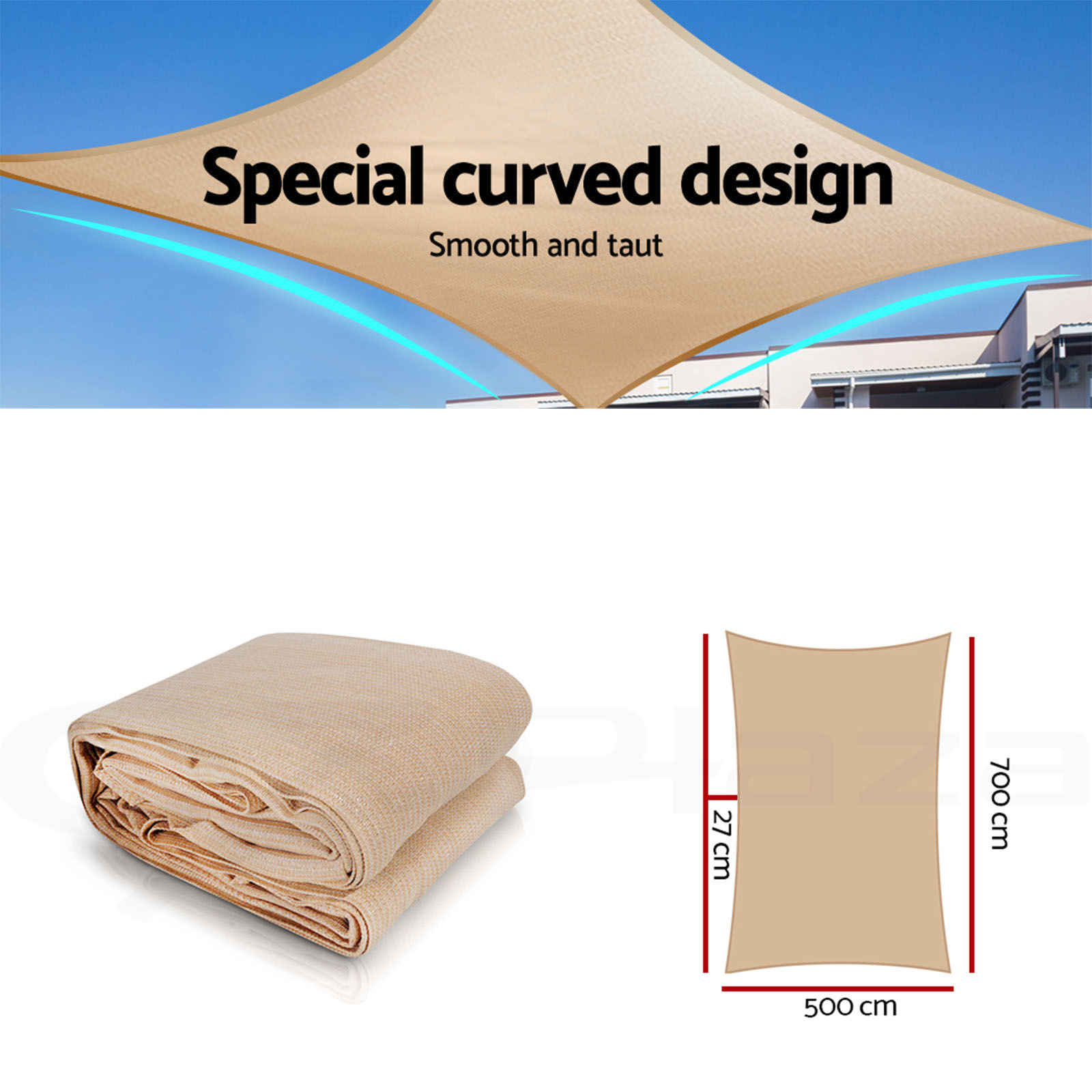Instahut-Sun-Shade-Sail-Cloth-Shadecloth-Outdoor-Canopy-Rectangle-280gsm