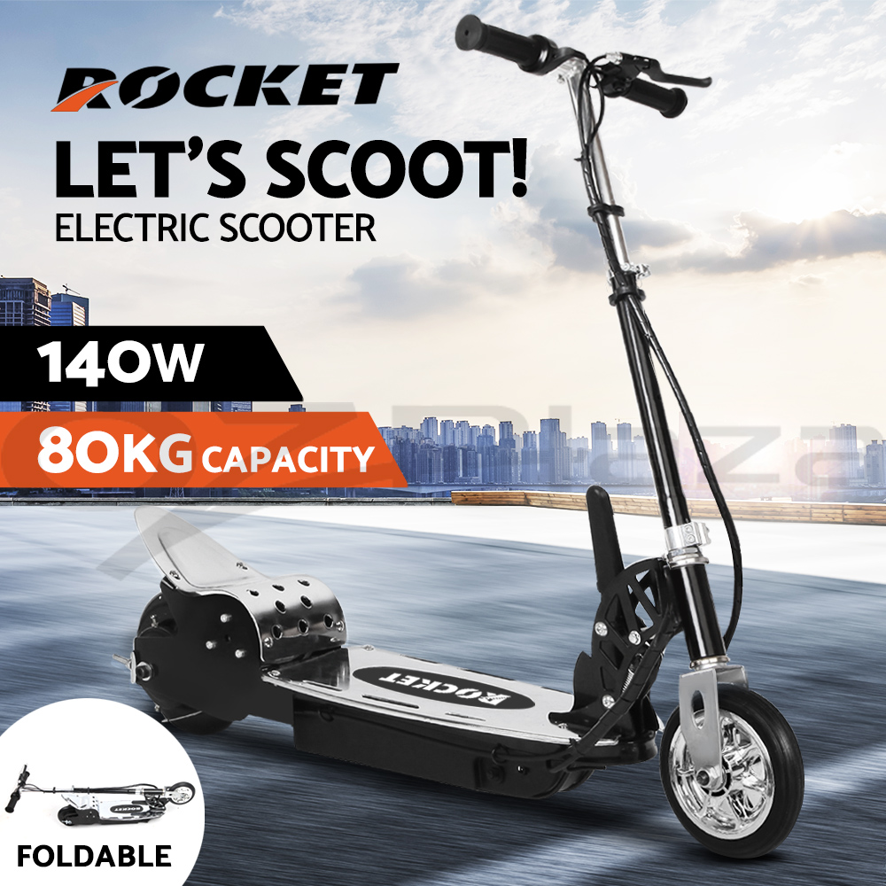 Scooter Turbo Friends: ROCKET Electric Scooter 140W Adjustable Foldable Portable