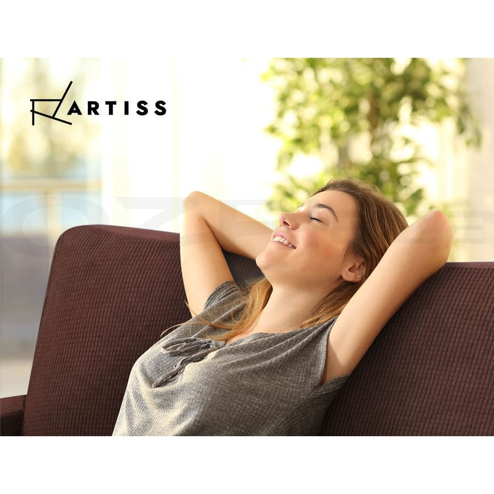 Artiss-Sofa-Cover-1-2-3-Seater-Couch-Covers-Recliner-Lounge-Protector-Slipcovers thumbnail 46