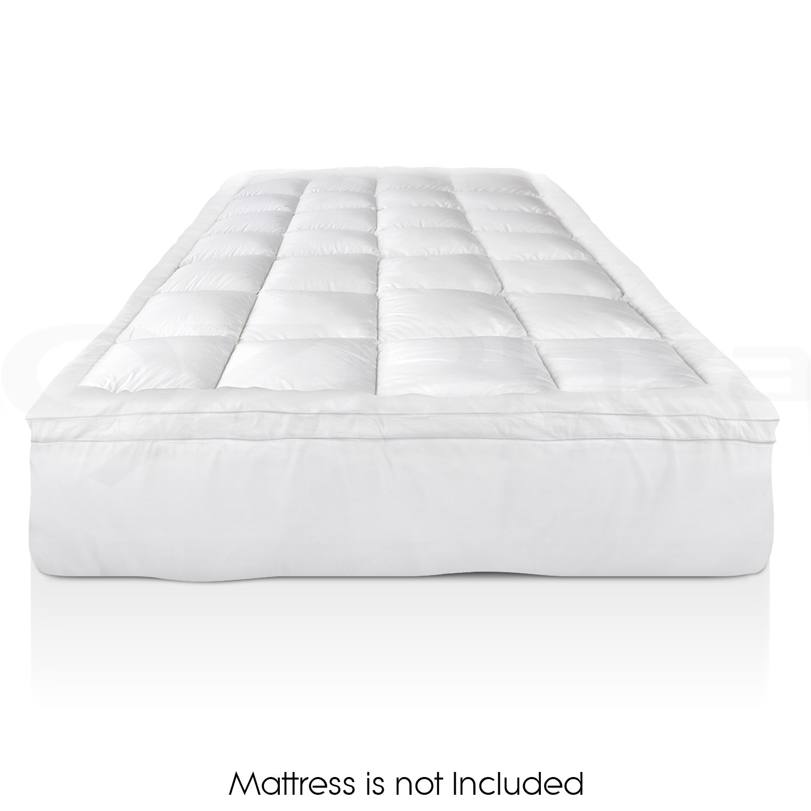 Luxury Pillowtop Mattress Topper Memory Resistant Protect Cover KING SINGLE.  Picture 1 of 12; Picture 2 of 12 ...
