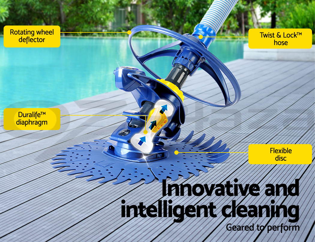 Zodiac T3 Vacuum Pool Cleaner Suction Swimming Automatic
